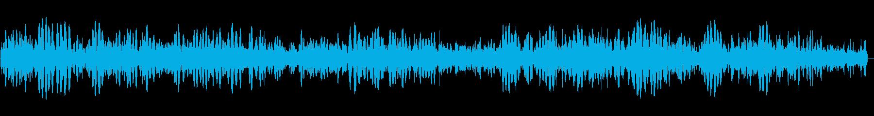 フツフツと煮る効果音の再生済みの波形