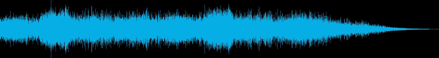 Anime ブクブクと湧き出る妖気 SEの再生済みの波形