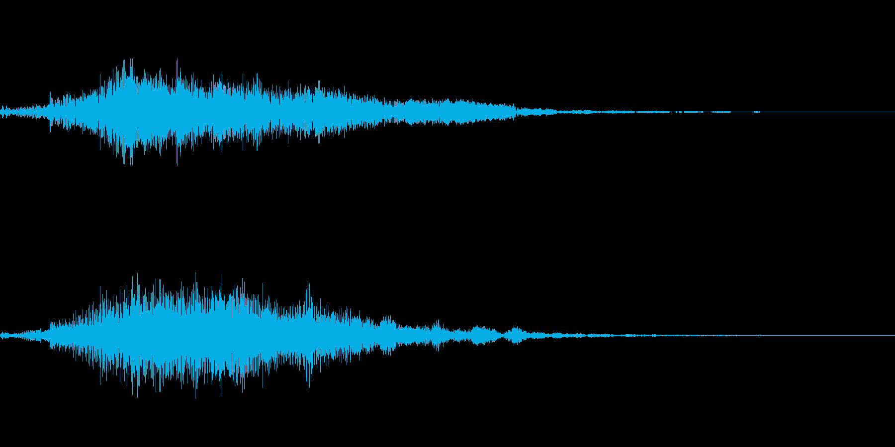 ホラー系導入音_その3の再生済みの波形