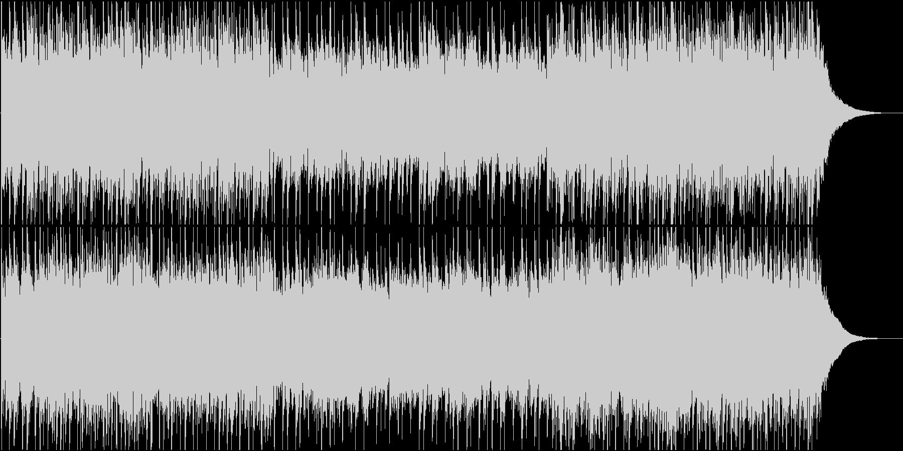 アコギによるエキゾチックなアンビエントの未再生の波形