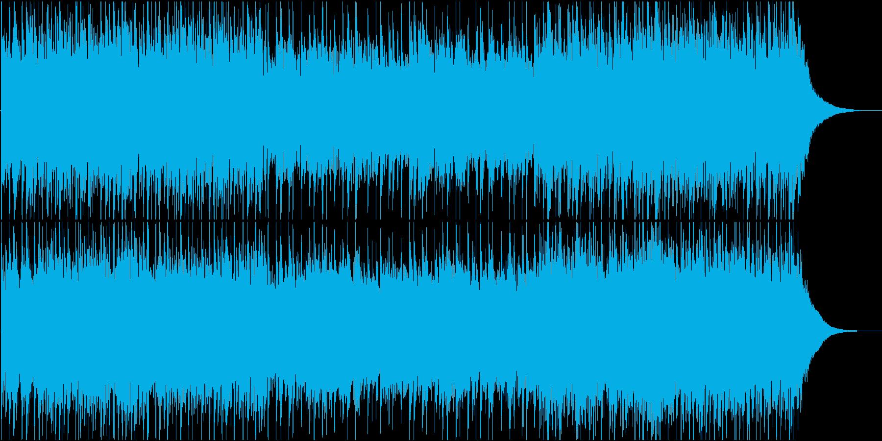 アコギによるエキゾチックなアンビエントの再生済みの波形