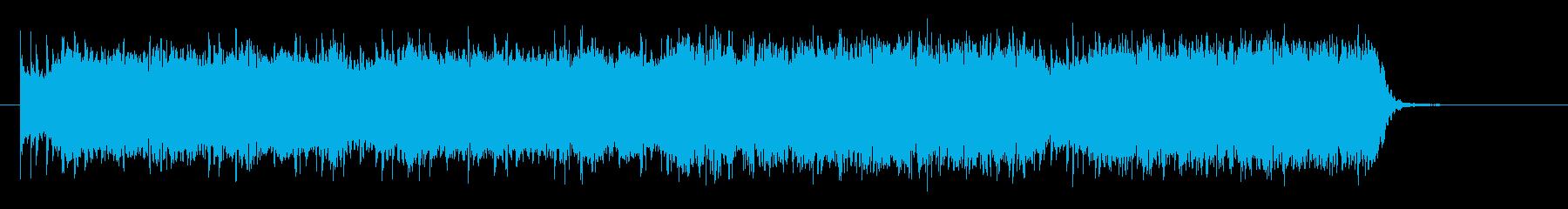 パンクロックでキャッチーなエレキジングルの再生済みの波形