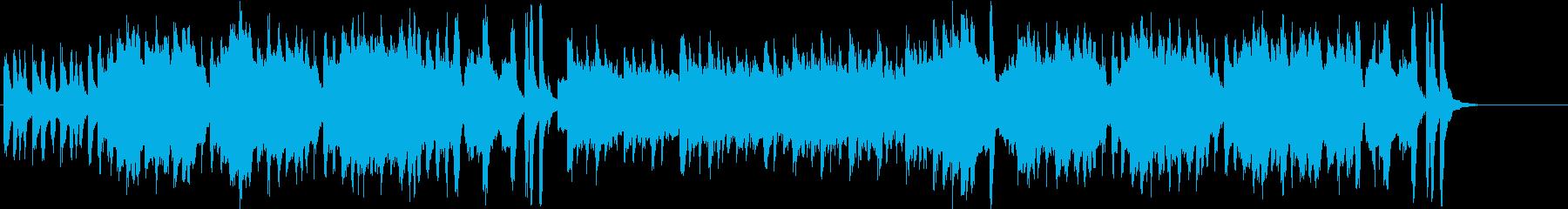 伝統 休日 遊園地 メルヘンの再生済みの波形