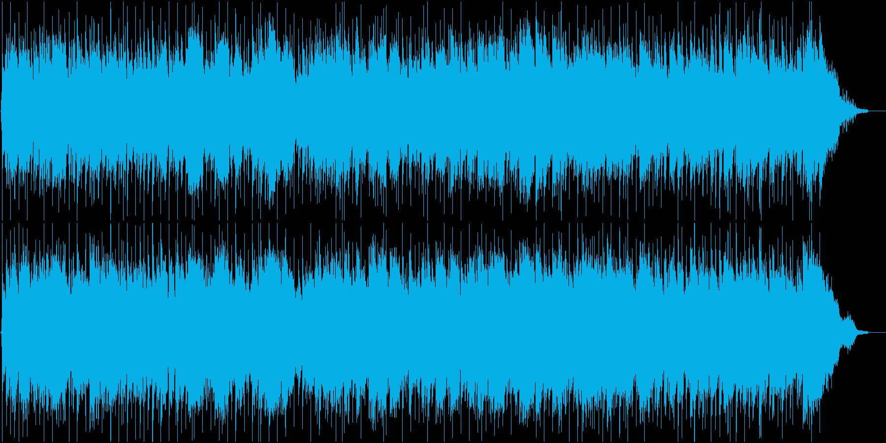 切ないハーモニカの青春フォークの再生済みの波形