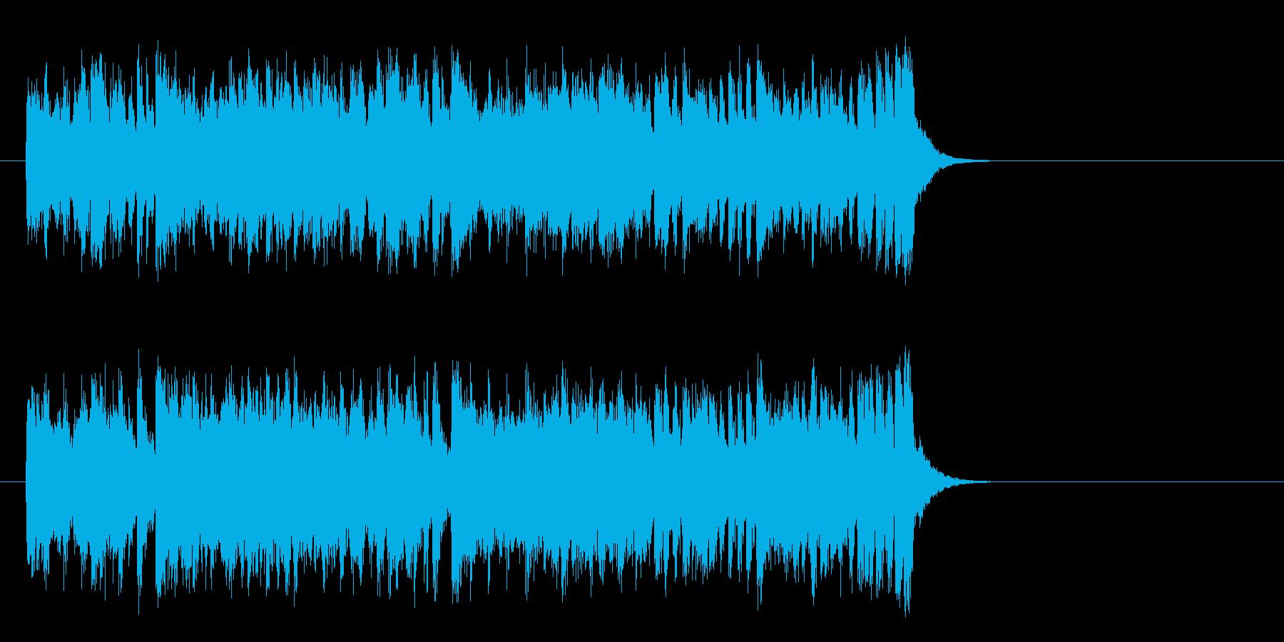 ハツラツな8ビートポップ(イントロ)の再生済みの波形