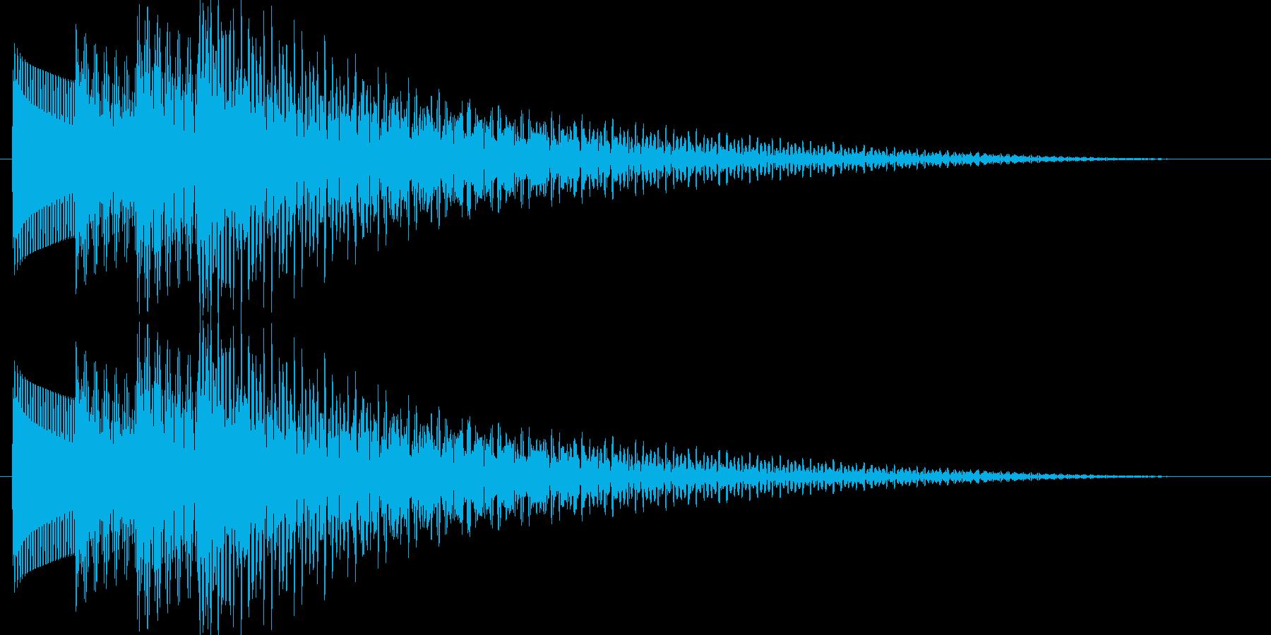 テロリラン_ベル(スロットでの確定音)の再生済みの波形