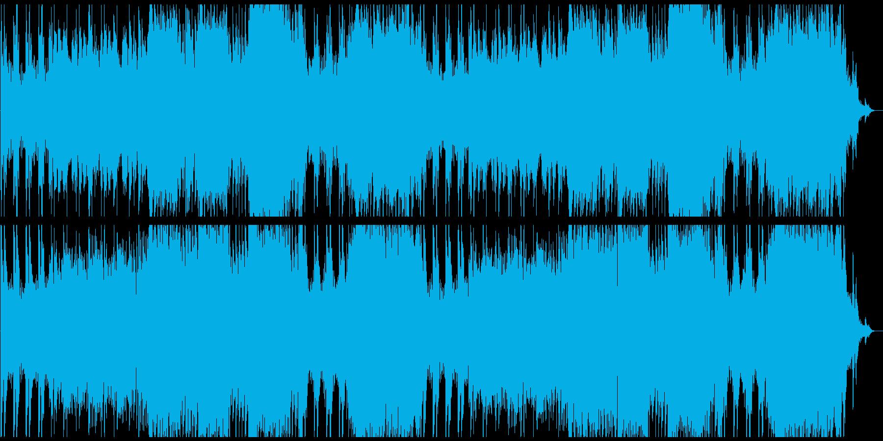 情熱的なオーケストラワルツの再生済みの波形