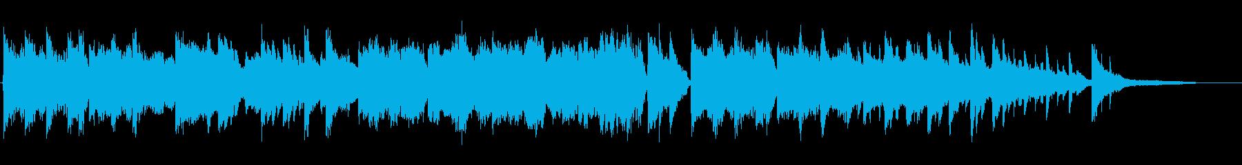 センチメンタルなピアノ+チェロの再生済みの波形