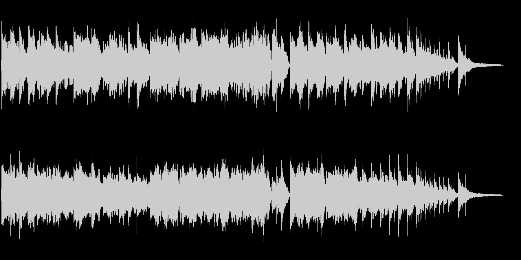 センチメンタルなピアノ+チェロの未再生の波形