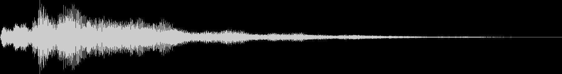 ピロロローン(お知らせ アイキャッチ)の未再生の波形