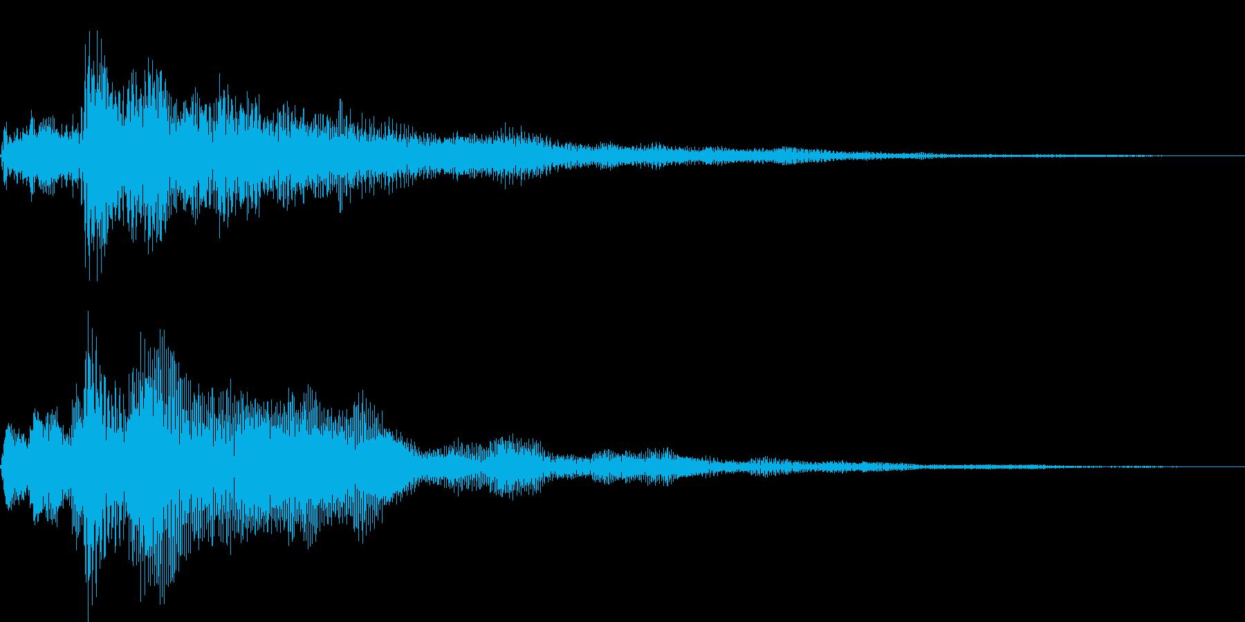 ピロロローン(お知らせ アイキャッチ)の再生済みの波形
