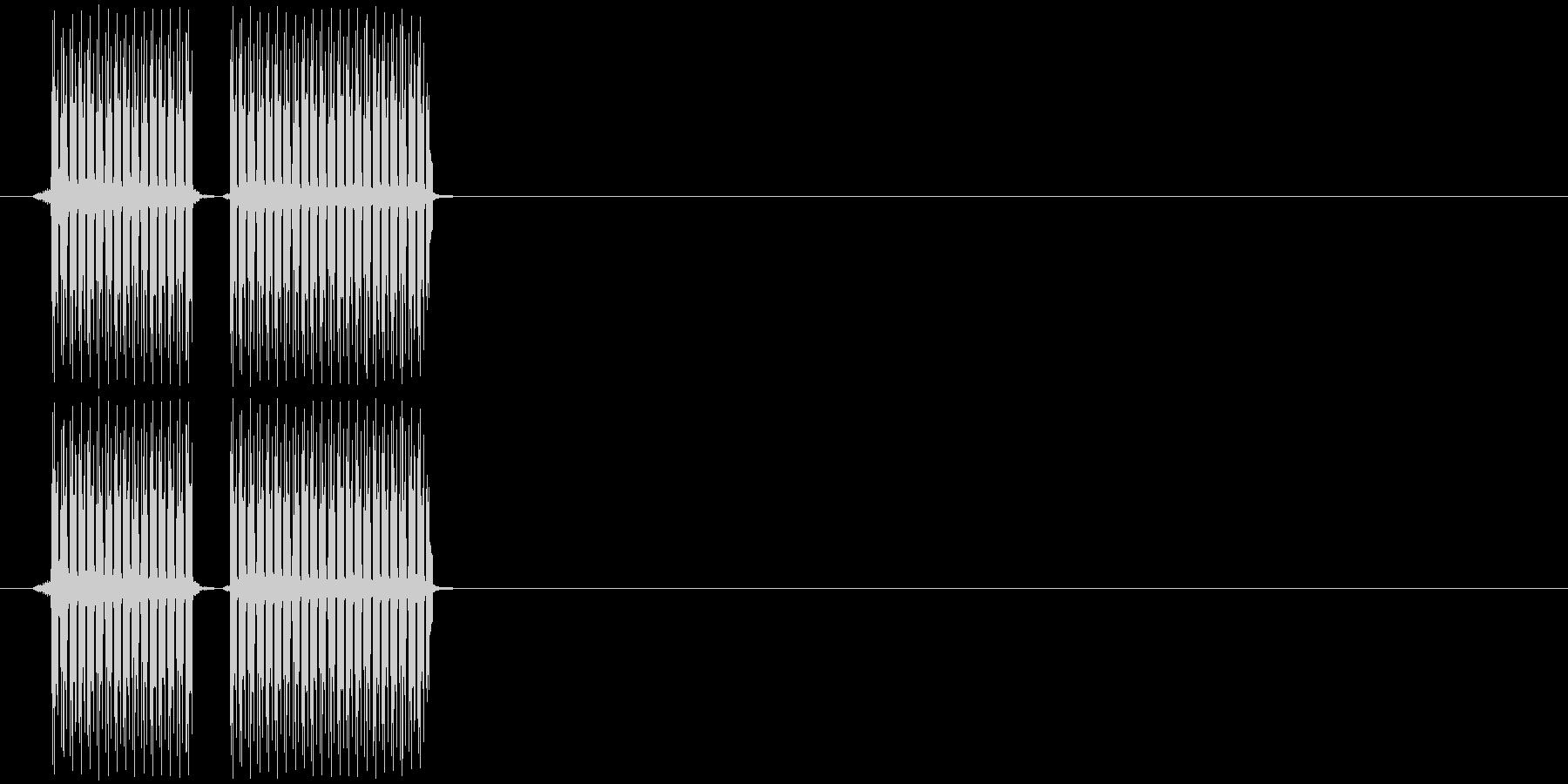 ステージクリア_クイズ番組系その2ですの未再生の波形