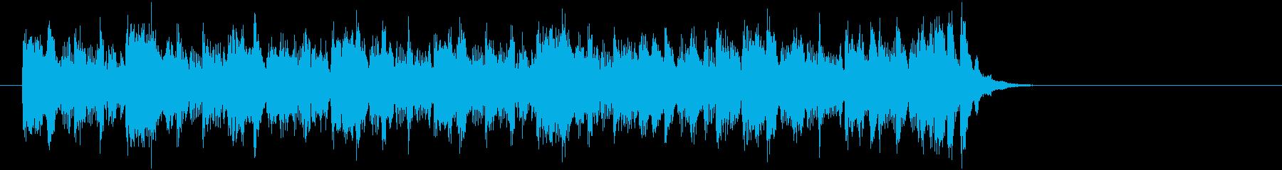 エレクトリックポップス(サビ)の再生済みの波形