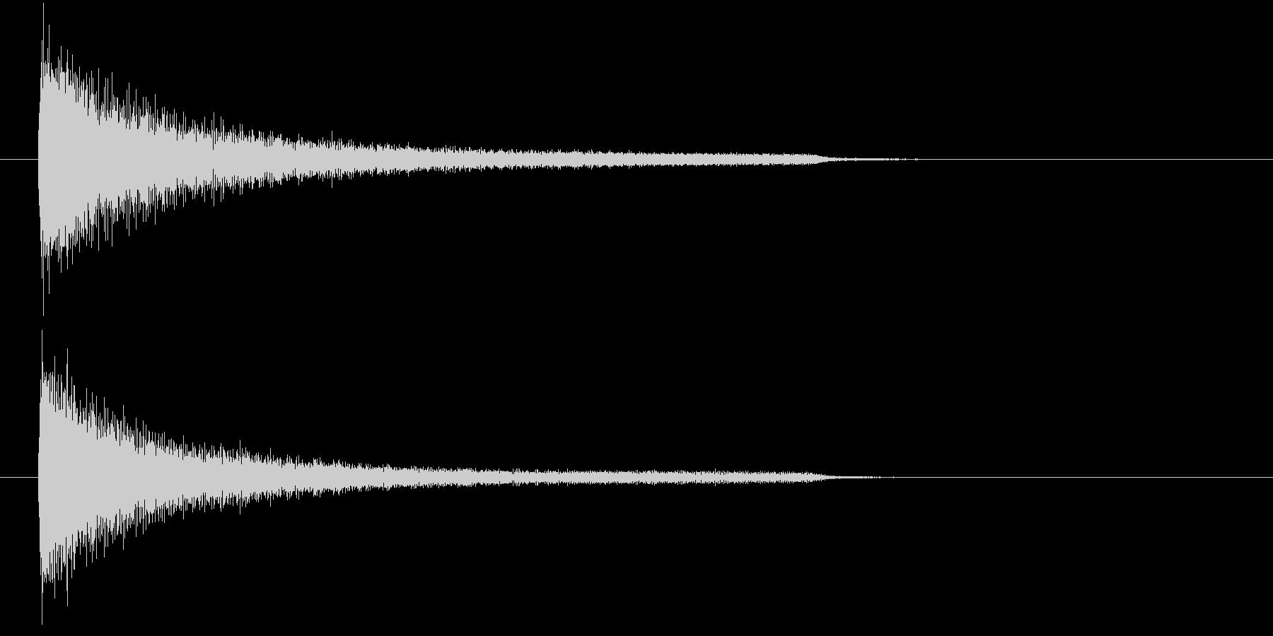 一番シンプルな(暗い)ピアノ和音の未再生の波形