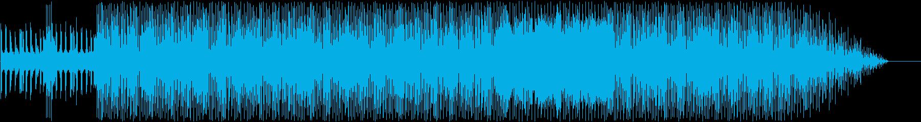 シンセリードが力強い躍動ロックの再生済みの波形