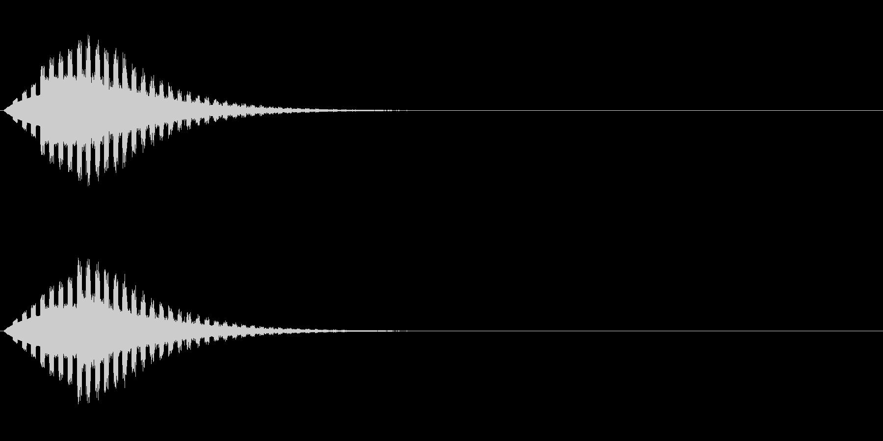 ヒューン↓(場面転換、流れ星、下降)の未再生の波形