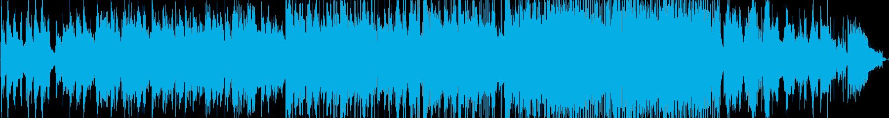 渋い感じのスローなジャズの再生済みの波形