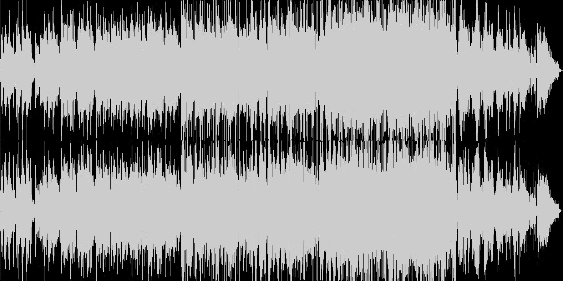 渋い感じのスローなジャズの未再生の波形