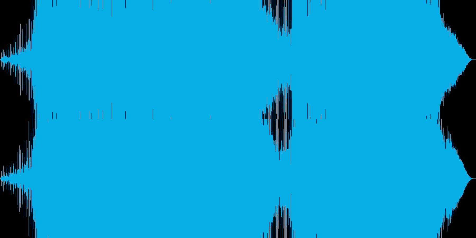 メロディックなEDMの再生済みの波形
