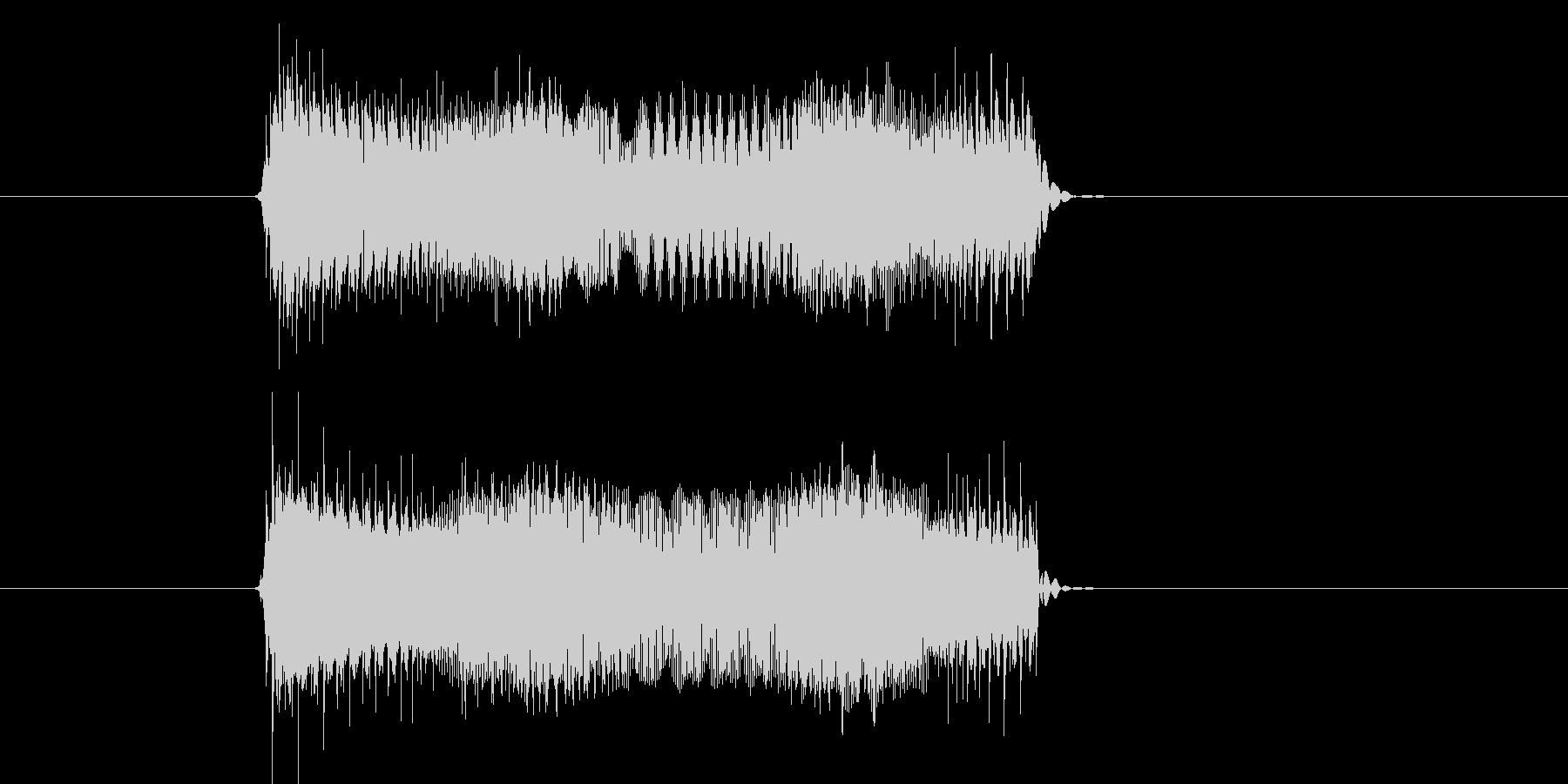 チューイーン(TV、雑音、VTR)の未再生の波形
