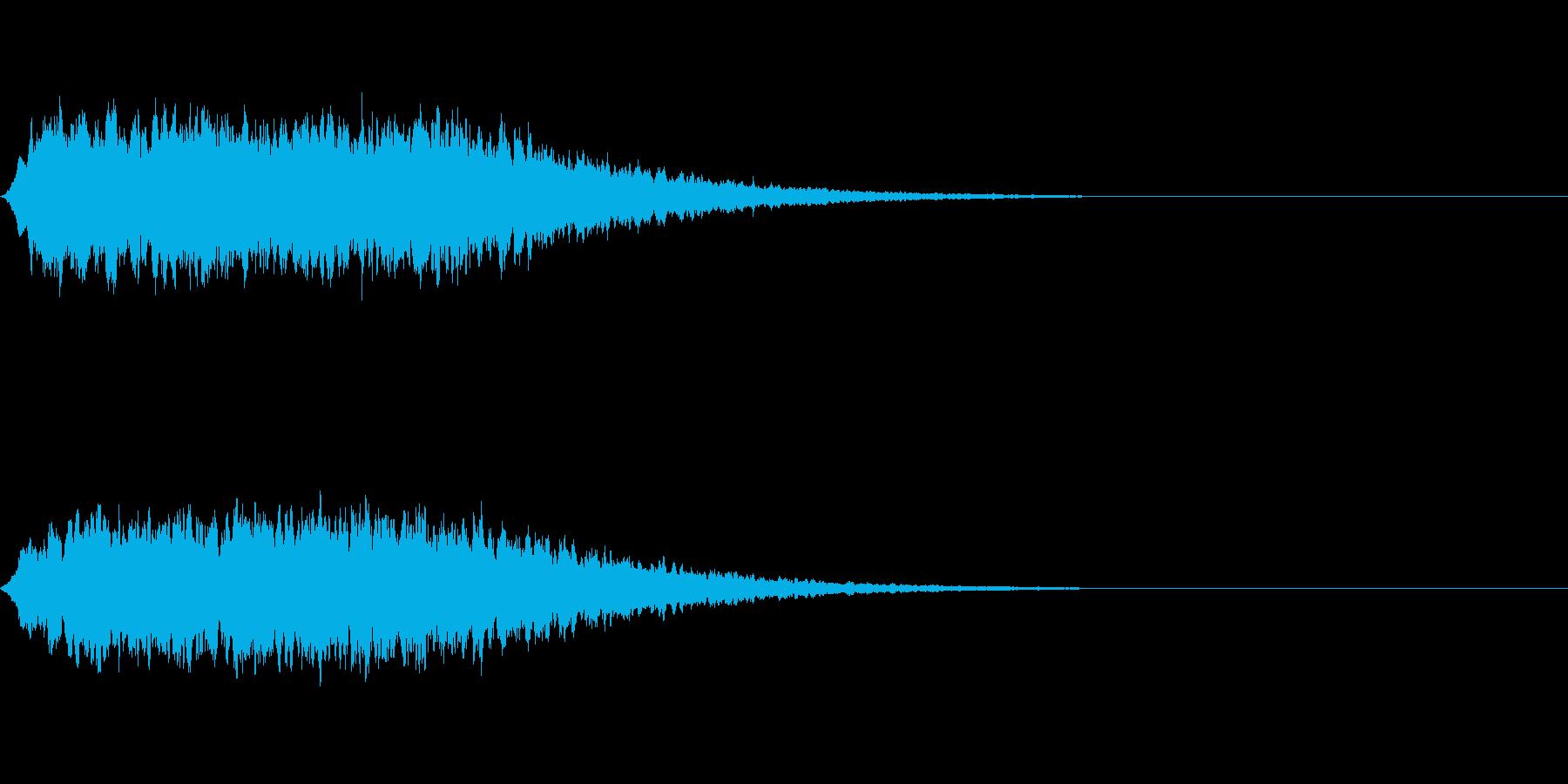 神秘的なシンセ音#2・サウンドロゴ等〜の再生済みの波形