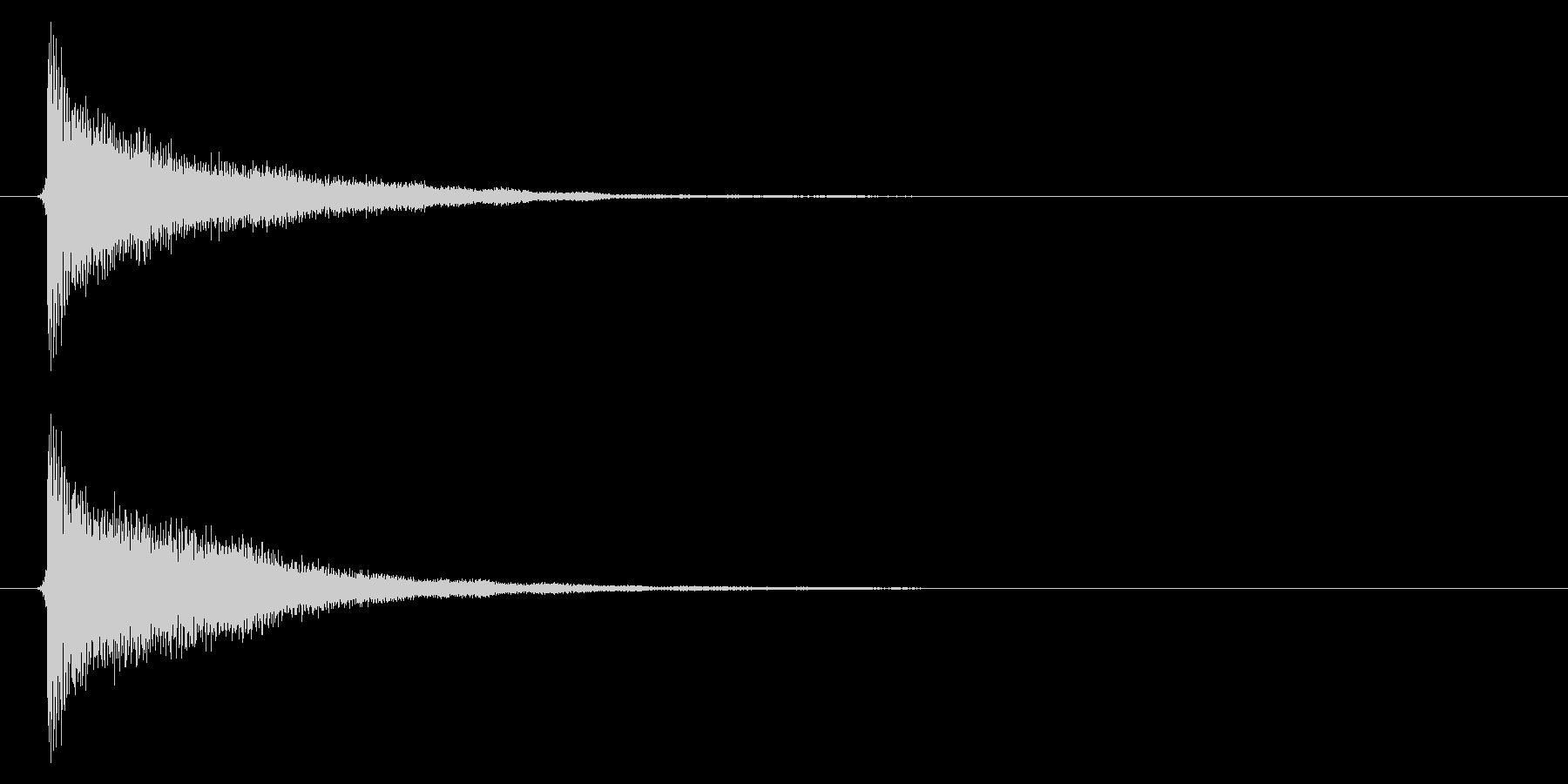古時計/洋館/鐘/ホラー/単発の未再生の波形
