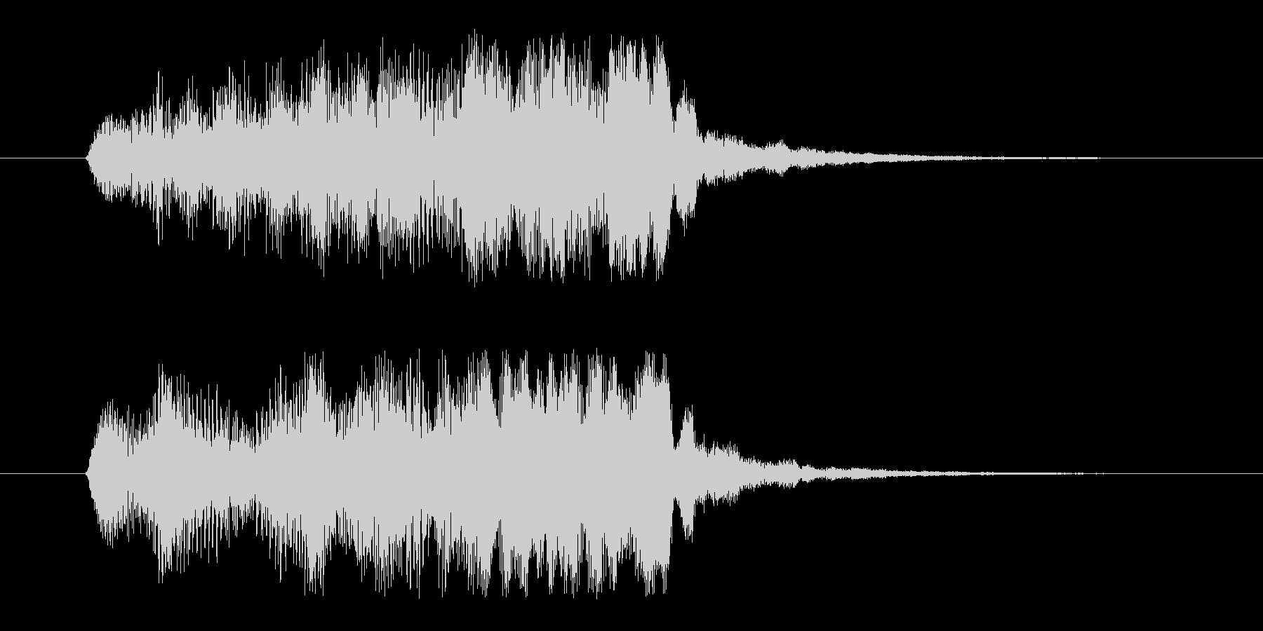 エンカウントジングルの未再生の波形