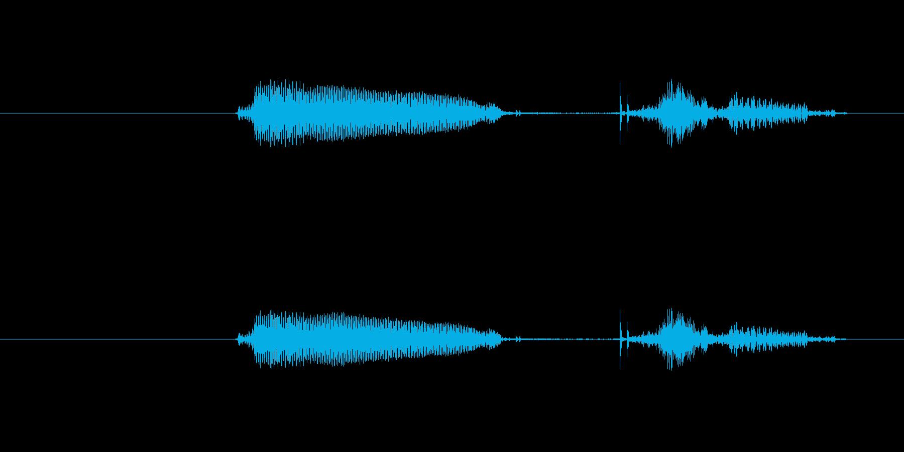 リーチ の再生済みの波形