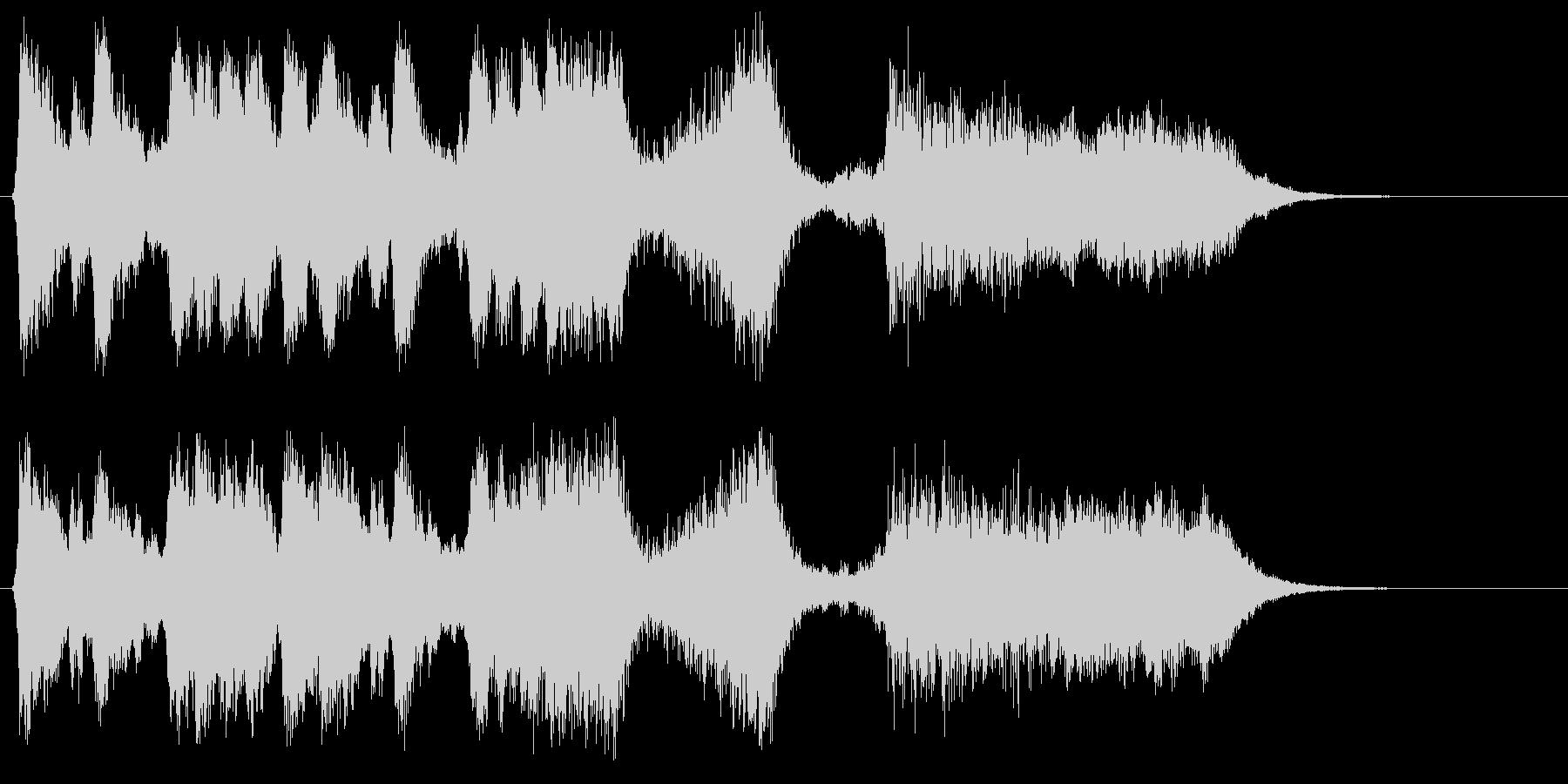 勇壮な合唱オーケストラ:編集版Cの未再生の波形