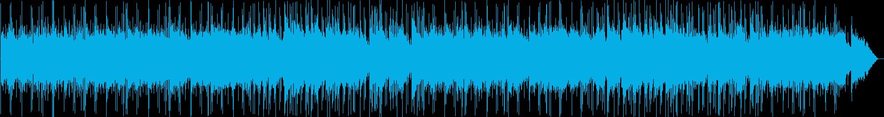 キレイな音色のイージーリスニングの再生済みの波形