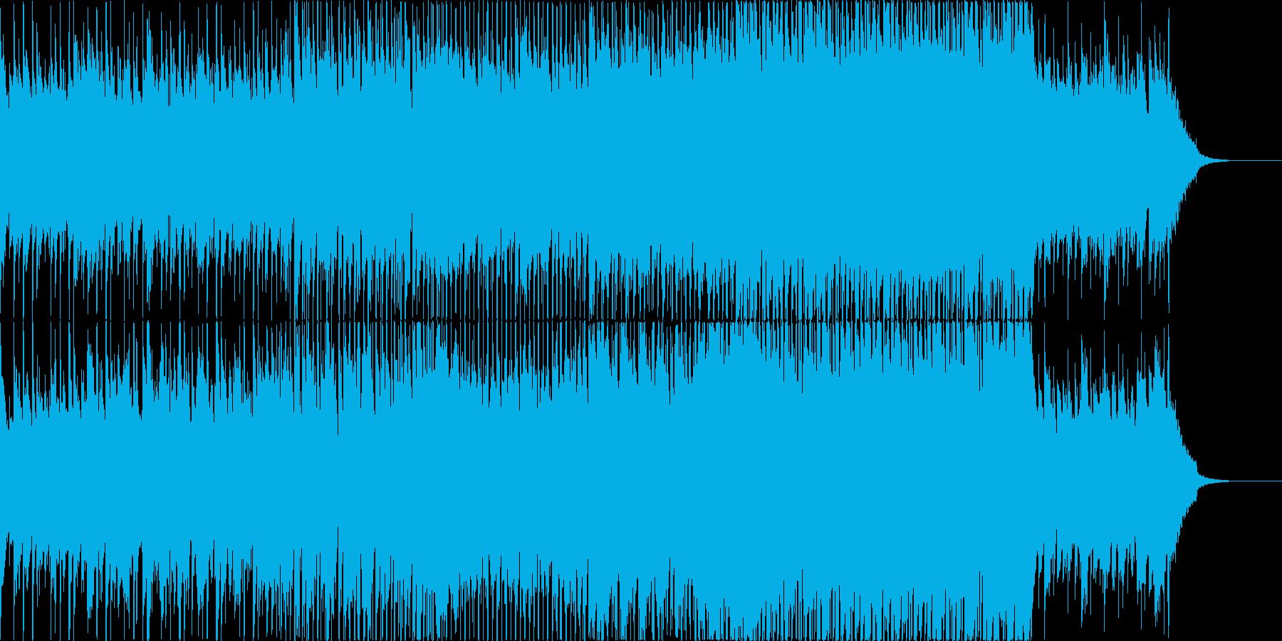 爽やかなアコギbeatBGMの再生済みの波形
