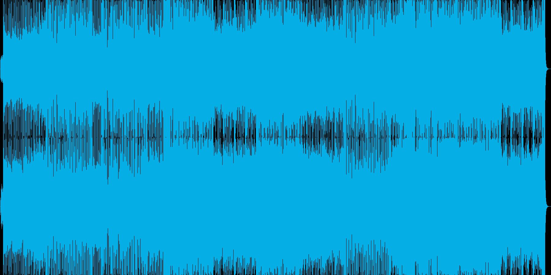 大人な雰囲気が漂うJazzとEDMの再生済みの波形
