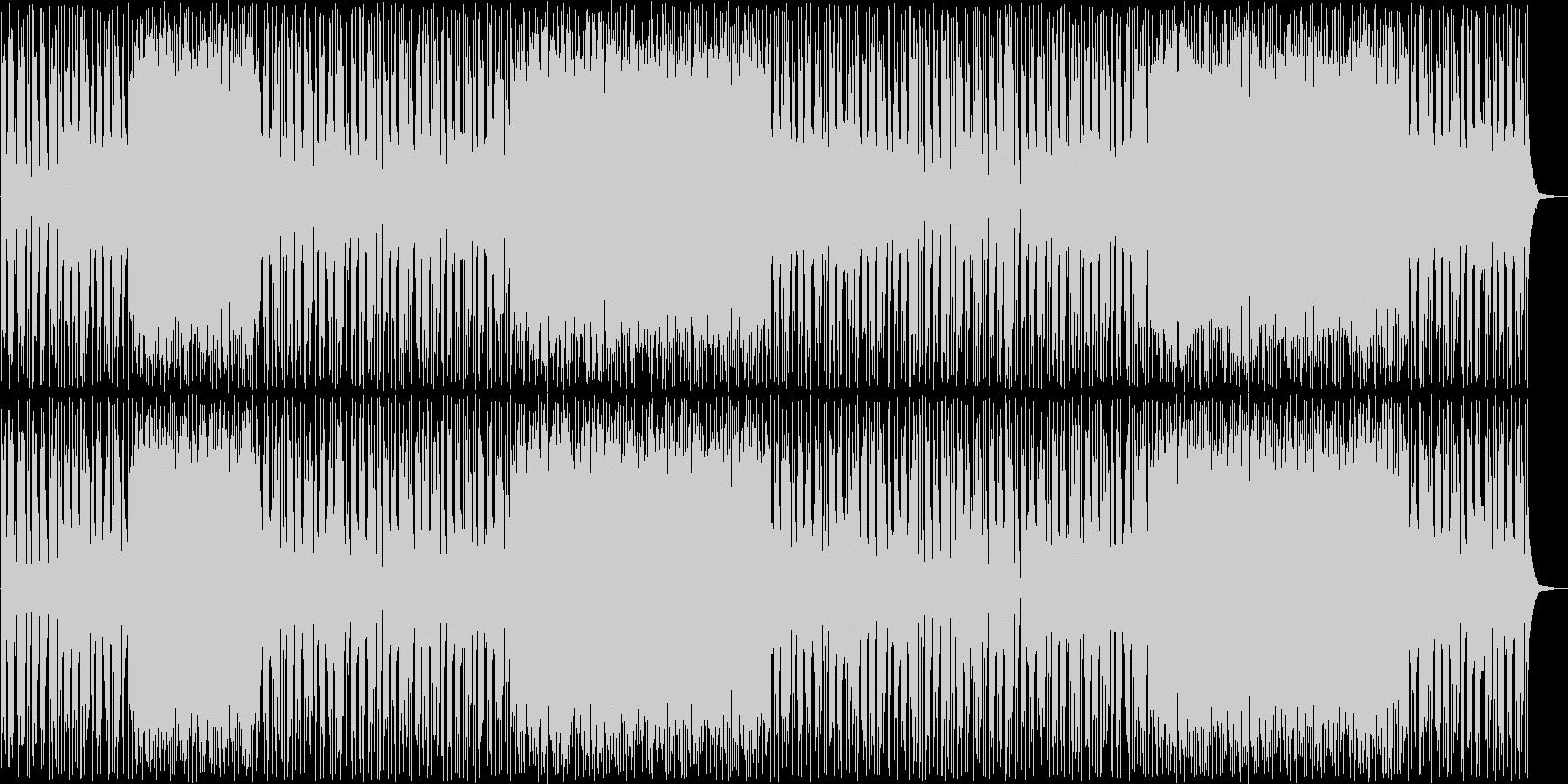 はじけるギターポップサウンドの未再生の波形
