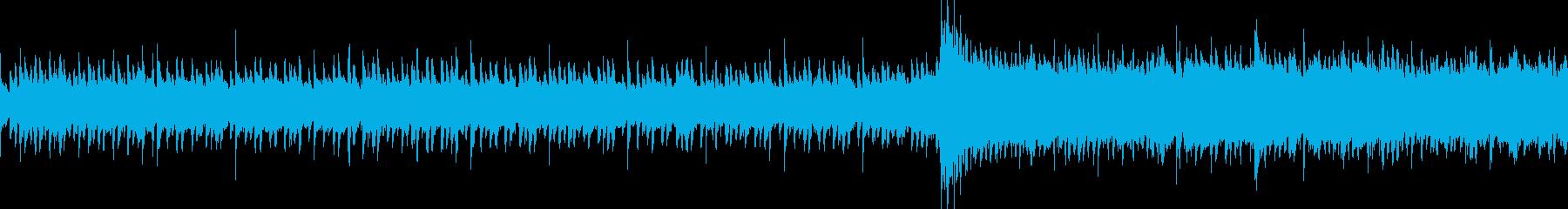 汎用BGM/神秘的(LOOP対応)の再生済みの波形