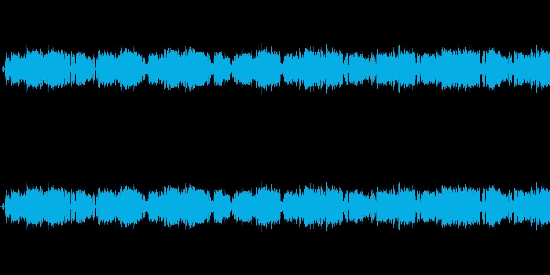 焦ってあたふた(じたばたする)の再生済みの波形