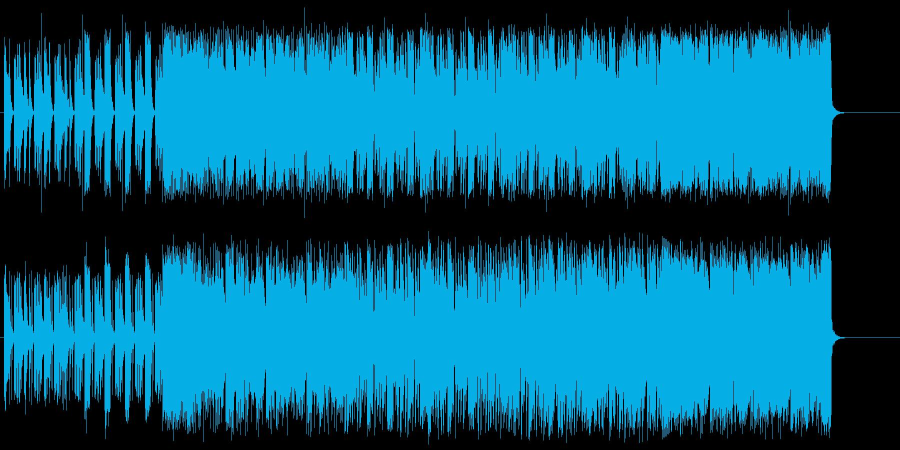 エレクトリックなミクスチャー・ロックの再生済みの波形