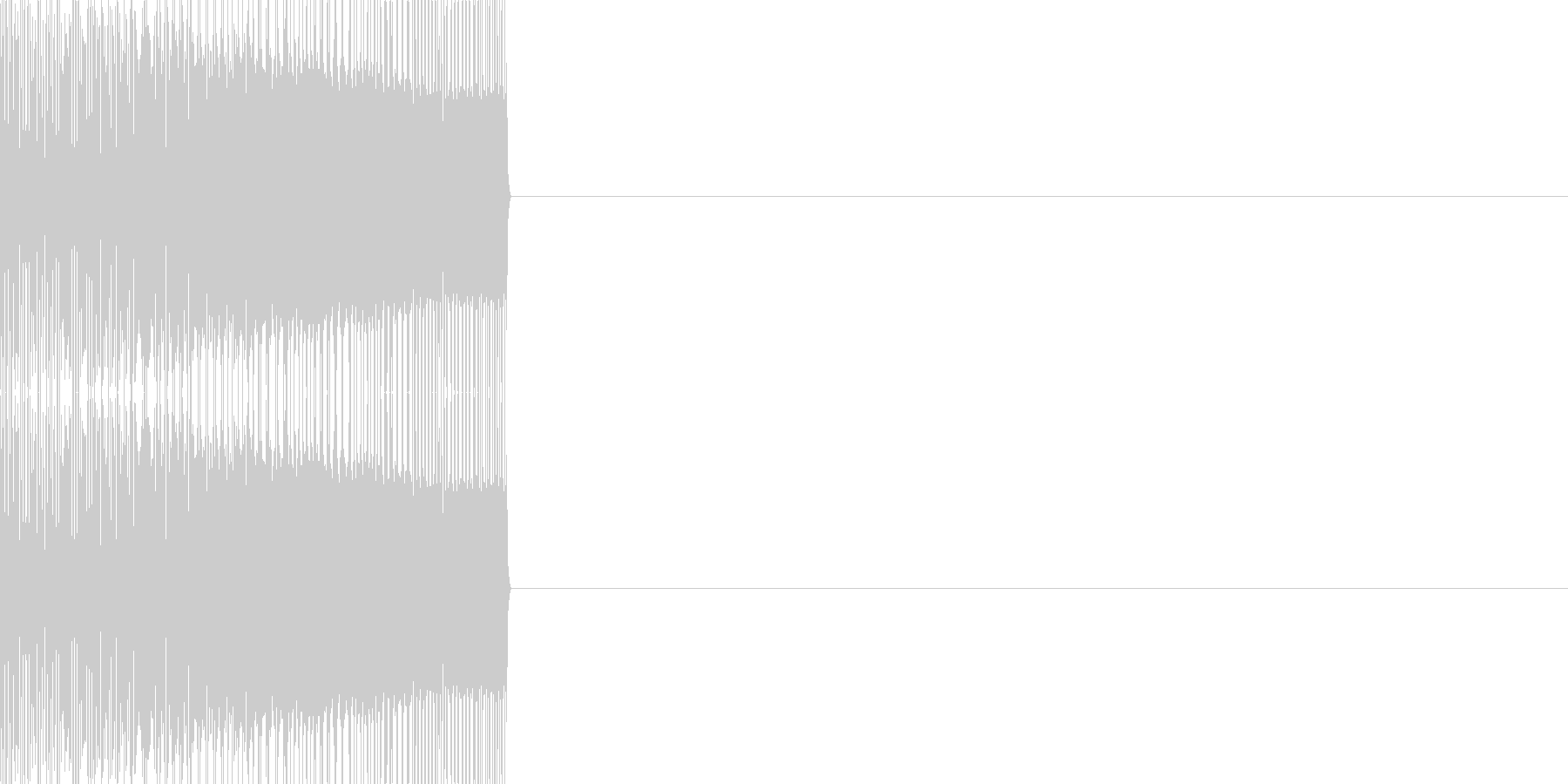 エンカウント03(ファミコン風)の未再生の波形