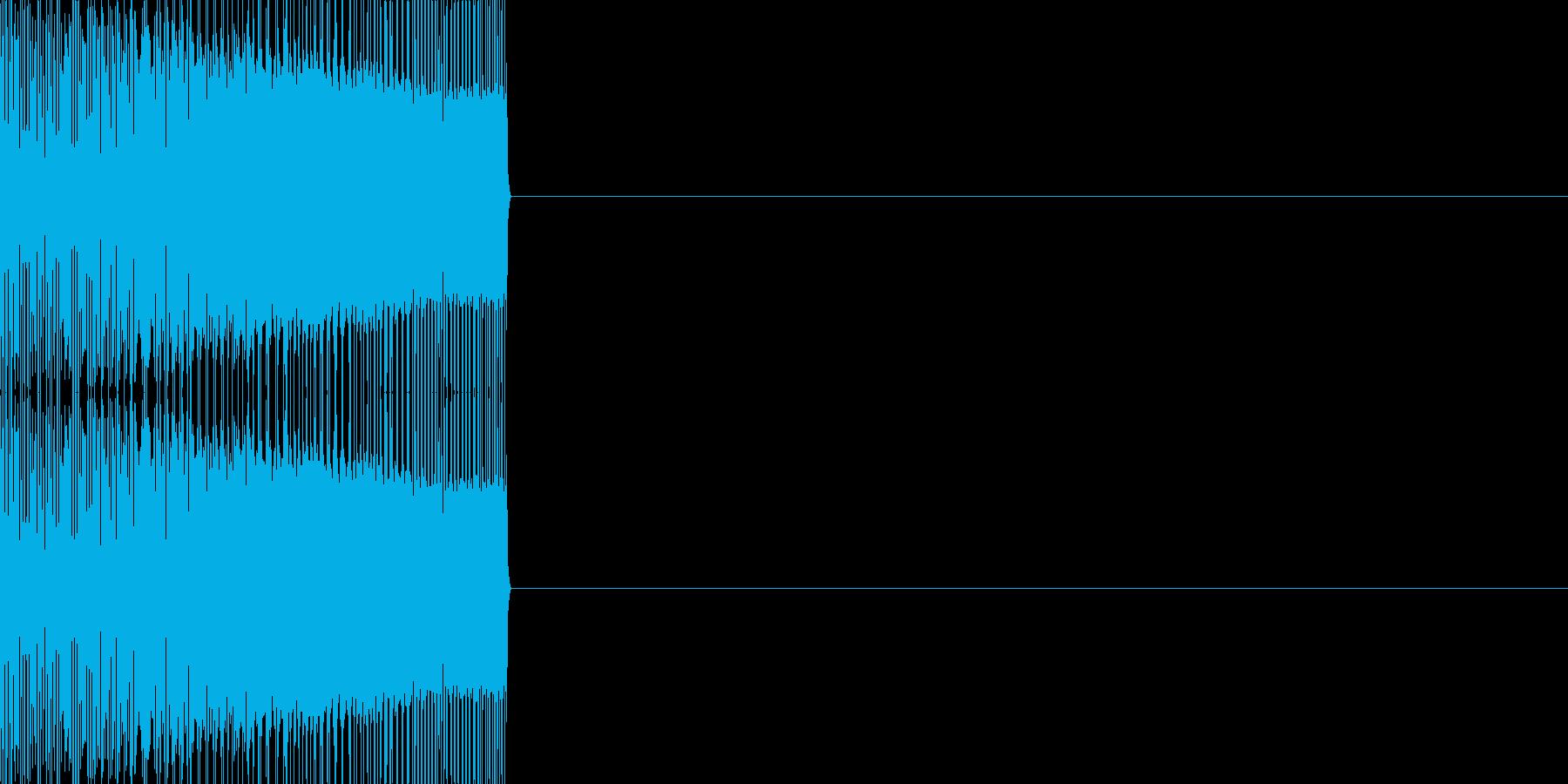 エンカウント03(ファミコン風)の再生済みの波形