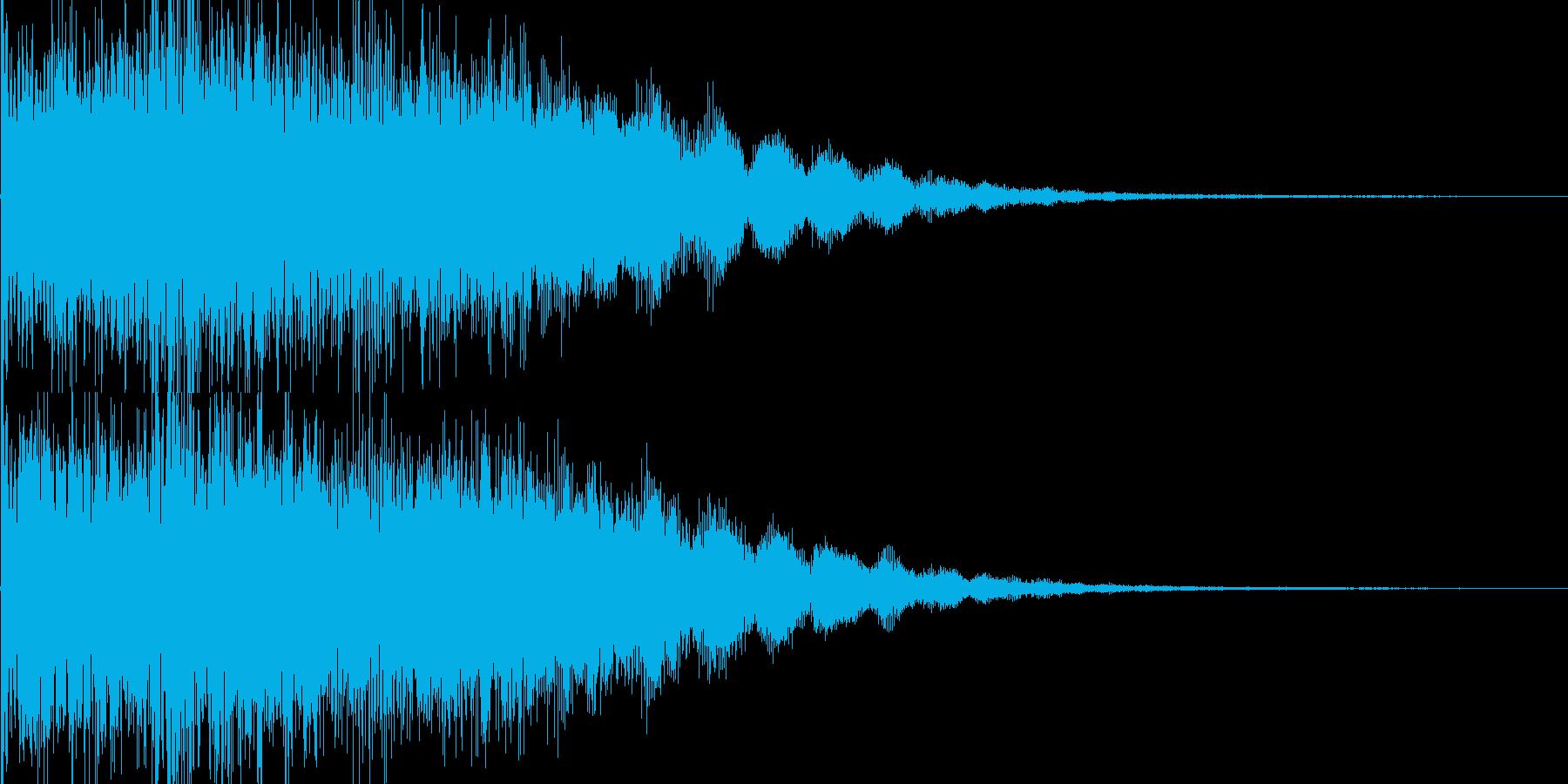キララーン ゲーム用SE育成レベルアップの再生済みの波形