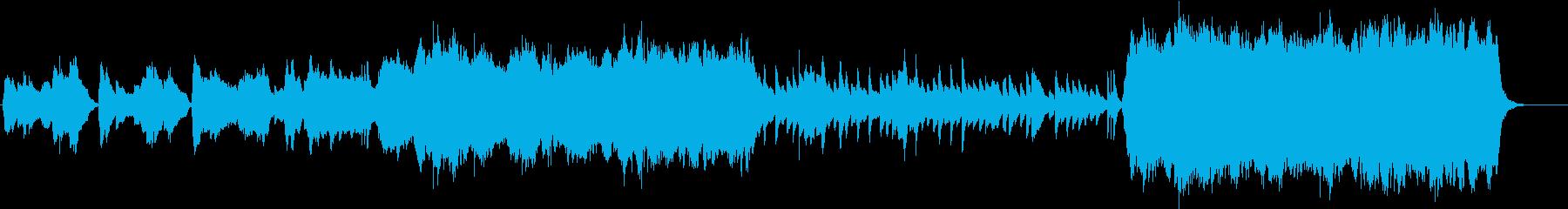冬をイメージした小編成オーケストラの再生済みの波形