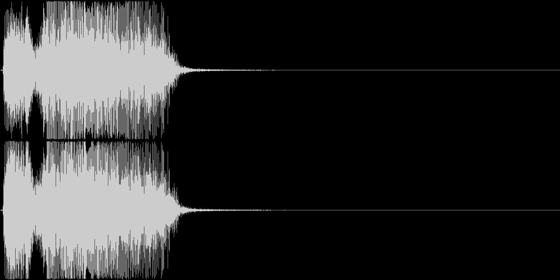「OK!」アプリ・ゲーム用の未再生の波形