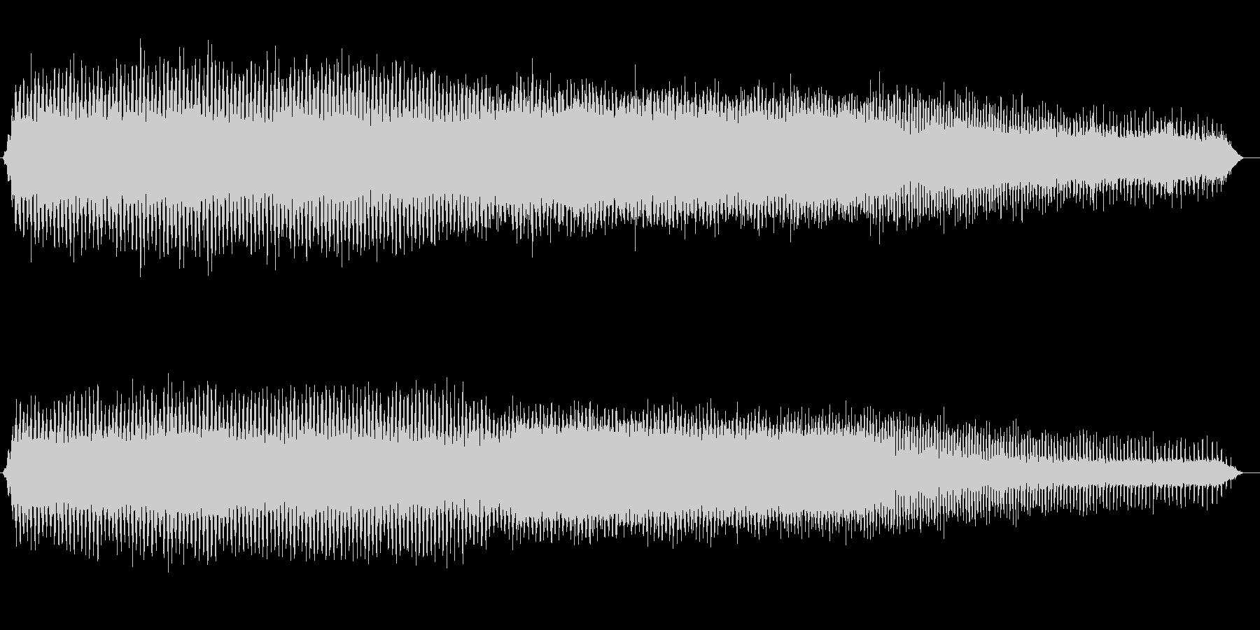 アブラゼミの鳴き声(ジリジリ、夏、午後)の未再生の波形