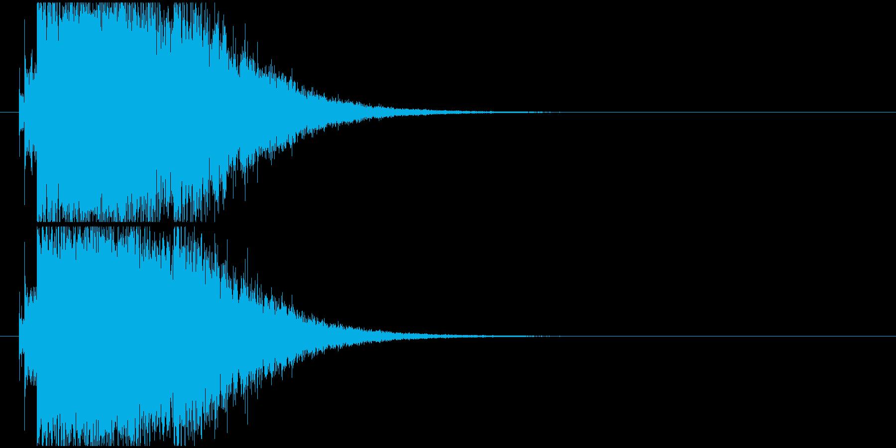 キラキラ変身の再生済みの波形
