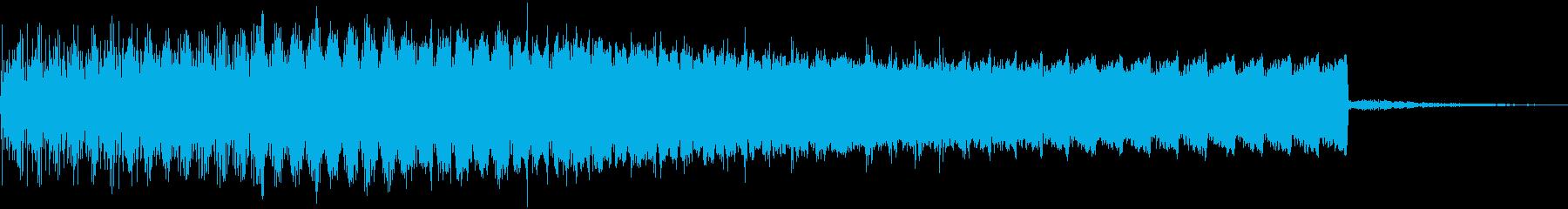 【ゲーム】チャージ・吸収音の再生済みの波形