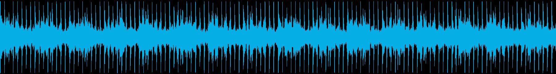 ムーディでお洒落なピアノ/ループ可の再生済みの波形