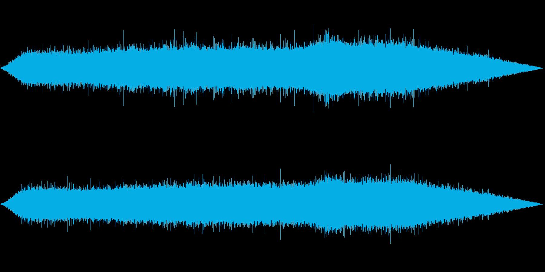 雨 雨音(夕立ち、豪雨、にわかあめ等)2の再生済みの波形