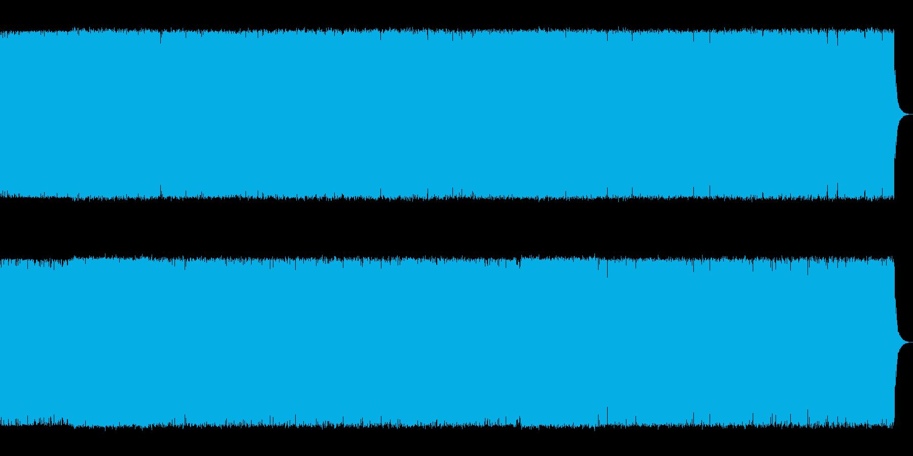 緊迫感のあるギターメタル雑魚キャラ系の…の再生済みの波形