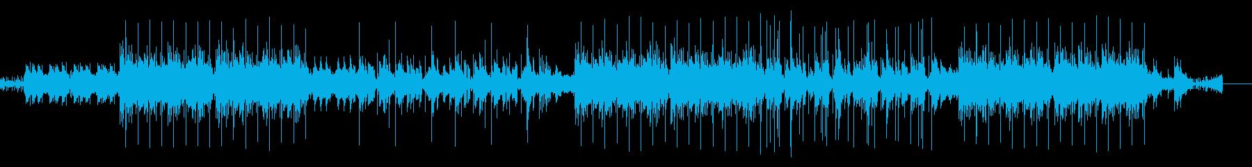 昔のレコードみたいな音質 ヒップホップ風の再生済みの波形