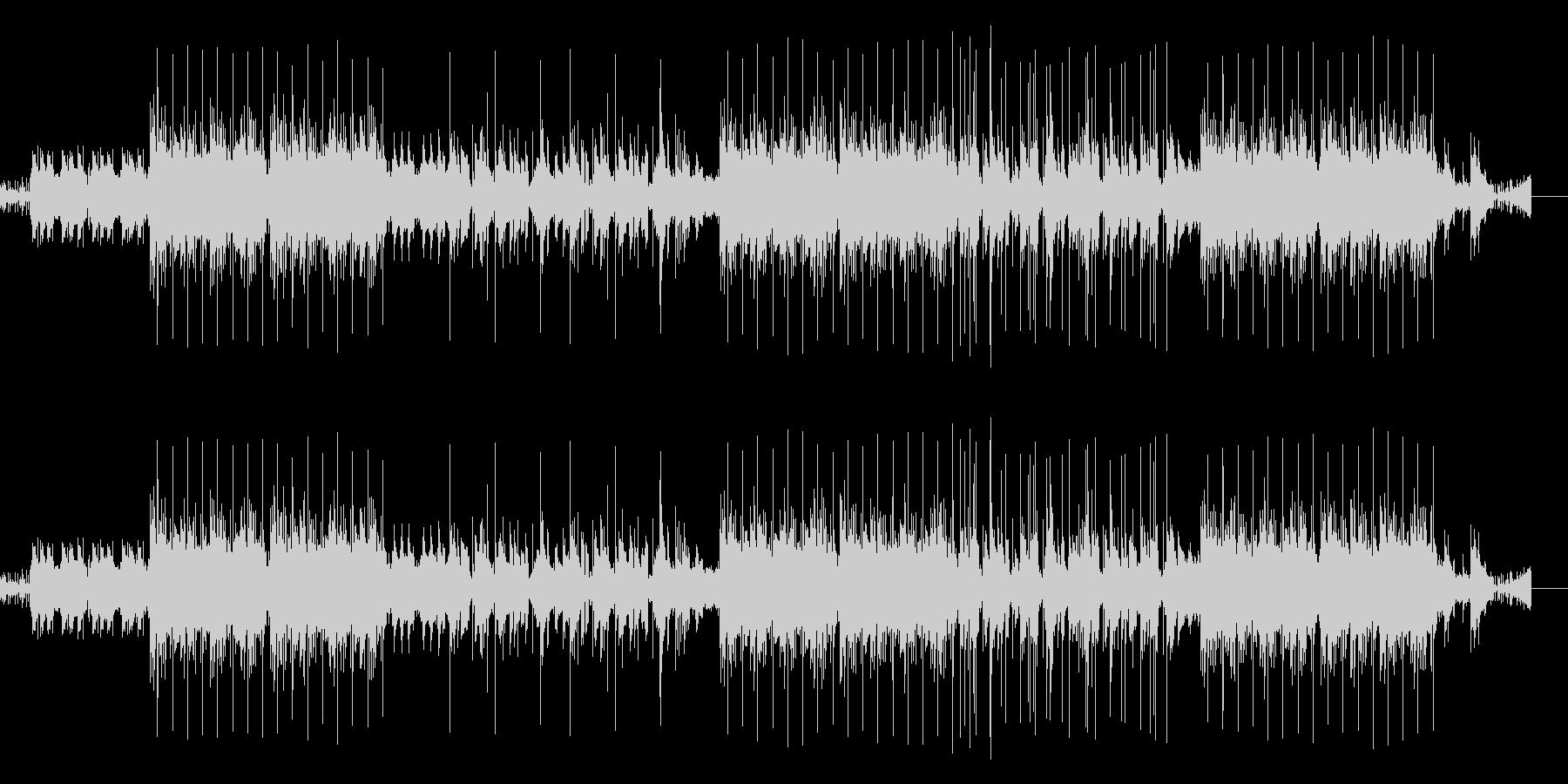 昔のレコードみたいな音質 ヒップホップ風の未再生の波形