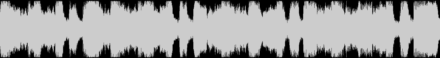 アルプス的なループ曲の未再生の波形